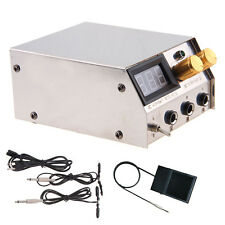 Regulated Tattoo Power Supply Liquid Crystal Digital LCD Display Stable Pro Set