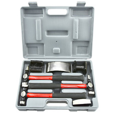 Neiko 20709A Heavy Duty Auto Body Hammer and Dolly Set 7 PcRepair Kit for Dents