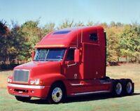 Red Freightliner Diesel Vintage Truck Wall Decor Art Print Picture (8x10)