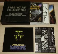 STAR WARS COLLECTION 3CD Box Set 1999 Japan OBI Numbered 34trk CPC8-1060-62