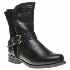 Lotus Synthetic Zip Boots for Women