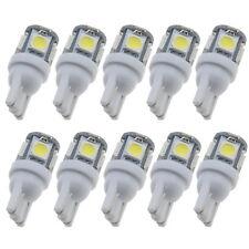 20x T10 5050 White LED 5 SMD Car Side Wedge Light Super Bright Bulb 7000K~9000K
