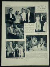 United Hunts Ball Savoy London Wilfred Egerton Hilton Green 1931 Photo Article