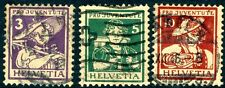 SWITZERLAND-1916 Pro Juventute set Sg J3-5 FINE USED V18140