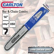"""Carlton 14"""" 3/8LP (Picco) .050 50DL Bar & Chain Combo fits STIHL Chainsaws"""