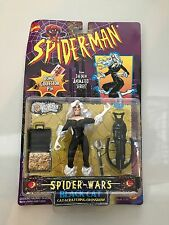 Spider-Man Spider Wars Black Cat Cat Scratching Crossbow Toybiz 1996 Brand New