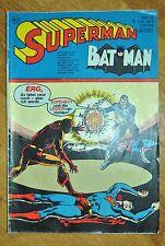 SUPERMAN BATMAN # 12 1974 German comic edition Vintage comics G condition rare