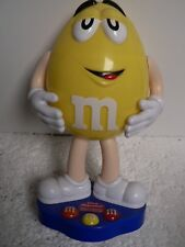 M&M's Yellow Peanut candy dispenser fun novelty collectible!