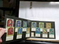 Israel Set MNH Stamps, Famous Marc Chagall 12 Tribes WIndows, WITH TABS #509-520