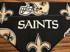 New Orleans Saints NFL  Over The Collar Dog Bandana