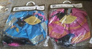 1991 Lot Of 2 MUFFY Vanderbear Wear Bal Masque Outfits Girl & Boy New Sealed!