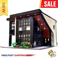 MOC-45635 Modern Cafe Modular 2020 Building Blocks 2803 PCS Good Quality Bricks