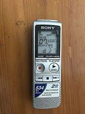 Sony ICD-BX800 Digital Grabadora de voz/dictáfono - 534 horas el mismo día post 2GB