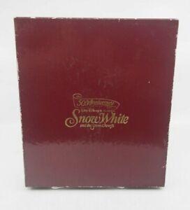 Disney Snow White - 50th Anniversary .999 Fine Silver Coins Boxed Set