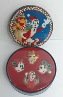 Disney Frosted Cookies Christmas Ornaments Tin Goofy 1992 ULTRA Rare Collectible