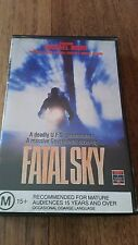FATAL SKY - MICHAEL NOURI, DARLANNE FLUEGEL, 1990 VHS VIDEO COLUMBIA