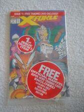 X-FORCE #1 MARVEL. ORIGINAL BAG SHATTERSTAR CARD 1991 CGC??