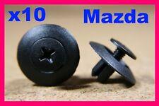 10 MAZDA NISSAN FINITURA PANNELLO A PRESSIONE FISSAGGIO CLIP DI BLOCCAGGIO
