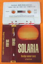 MC PAOLO DI LELLO Solaria 1991 NEW AGE SUMMER MUSIC ESQUIRE no cd lp dvd vhs