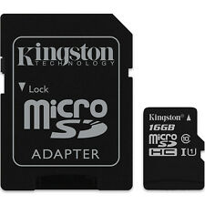 US Seller Canvas Select Kingston Memory 16GB 16 G Micro SD SDHC MicroSD Class 10