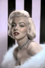 "MARILYN MONROE HOLLYWOOD ACTRESS LOT OF TEN (10) 8x10"" HAND COLOR TINTED PHOTOS"