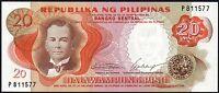1969 PHILIPPINES 20 PISO BANKNOTE * UNC * P-145a * Signature # 7