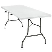 Table pliable de camping jardin buffet à mager BBQ pique-nique portable 183cm