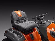 Husqvarna Black / Orange Tractor Lawn Mower Seat Cover Protector 588208701
