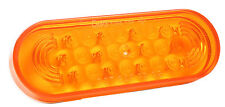 Grote (77363) Oval LED Strobe Light - Yellow