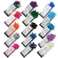 1000pcs/box Dental Orthodontic Elastic Ligature V Ties Rubber Bands 17 Colors