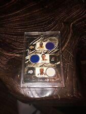 KOBE BRYANT STEVE NASH BARON DAVIS BIBBY GAME USED JERSEY CARD #d168/179 LAKERS