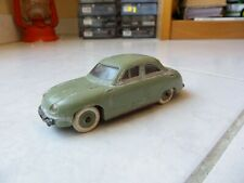 Panhard Dyna 56 verte JEP France 1/43 jouet miniature ancien