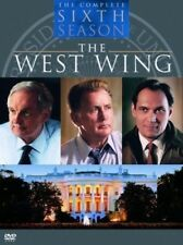 WEST WING - COMPLETE S06 BOX SET N&S DVD REGION 1 BRAND NEW FACTORY SEALED