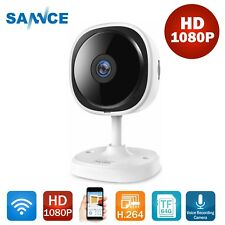 SANNCE 1x WiFi 1080P Wireless IP Camera Network CCTV Home Security System IR CUT