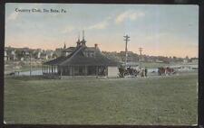 Postcard Du Bois Pennsylvania/Pa Golf Course Country Club House view 1907