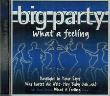 CD Big Party-What a Feeling , Neuwertig,Titel Foto,Deep Purple,Smokie,Dj Bobo...