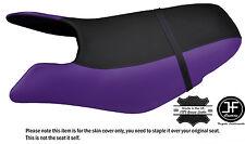 Black & purple custom fits seadoo gtx gti 97-01 avant vinyle housse de siège + sangle