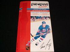 1986-87 Pro-Sport Autograph Card °NEW YORK ISLANDERS  #22, MICHAEL BOSSY  <>