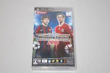 World Soccer Winning Eleven 2010 Japan Sony PSP game