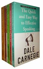 Dale Carnegie Paperback Set of 5 How to Win Friends and Influence People New