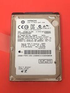 HiTachi HTS545025B9SA02 250GB 5400RPM Apple#655-1538D 250GB Sata HHD