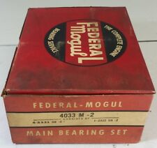 Federal Mogul 4033M-2 Main Bearings Set 1975-78 Dodge Chrysler 400 V8 .002