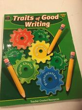 Teacher Created Resources Traits Of Good Writing Grades 3-4