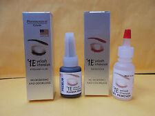 #1 PREMIUM FAST DRY Eyelash Extension Glue Adhesive + Gel Remover 15 ml  No Burn
