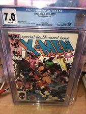 Uncanny X-Men #193 (1985) Key 1st Starfire Hellions Warpath CGC 7.0