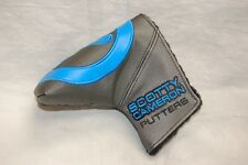 NEW INDUSTRIAL CIRCLE T SCOTTY CAMERON HEADCOVER COVER MID MALLET Grey Blk Blue