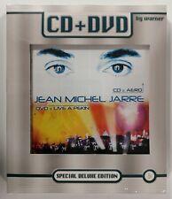 Jean Michel Jarre LIVE A PEKIN RARE CD + DVD Deluxe Edition NEUF