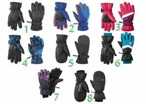 Kinder Jungen Mädchen Skihandschuhe Schnee Handschuhe Winter Ski Snowboard
