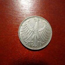 Sehr schöne 5 DM Münzen der BRD (1951-1974)