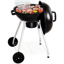 Portable Charcoal Smoker Kettle BBQ Grill Stand Roaster Camping Picnic Outdoor